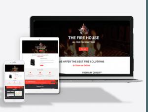 Fire Supplier Website Theme