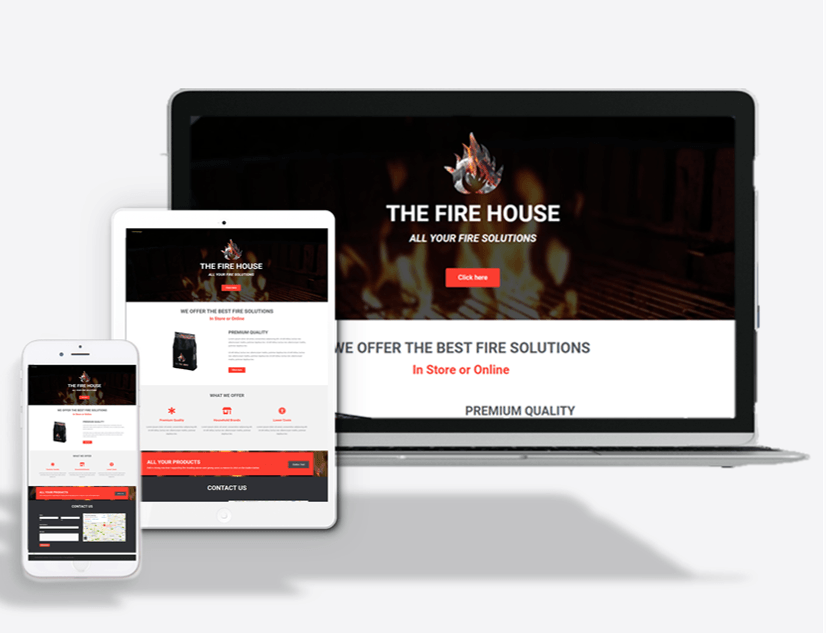 Fire Supplier Website Theme