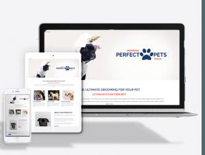 Pet Parlor Website Theme