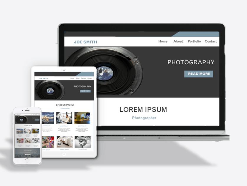Photography Website Theme