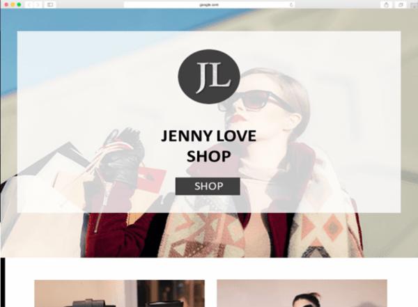 Online Store Website Design