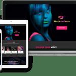 Neon Ecommerce Website Theme
