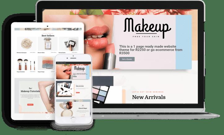 Make up Website