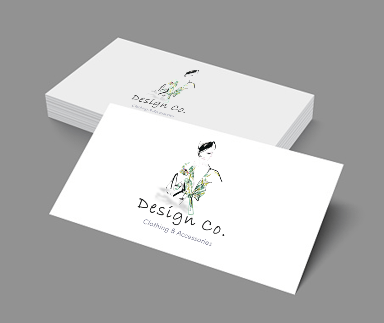 clothing brand business cards