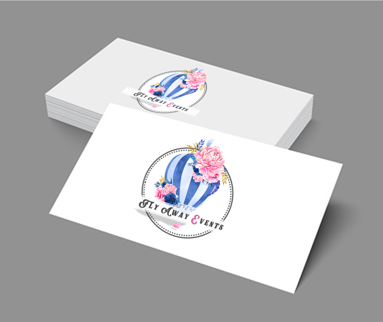 Events Company Business Cards