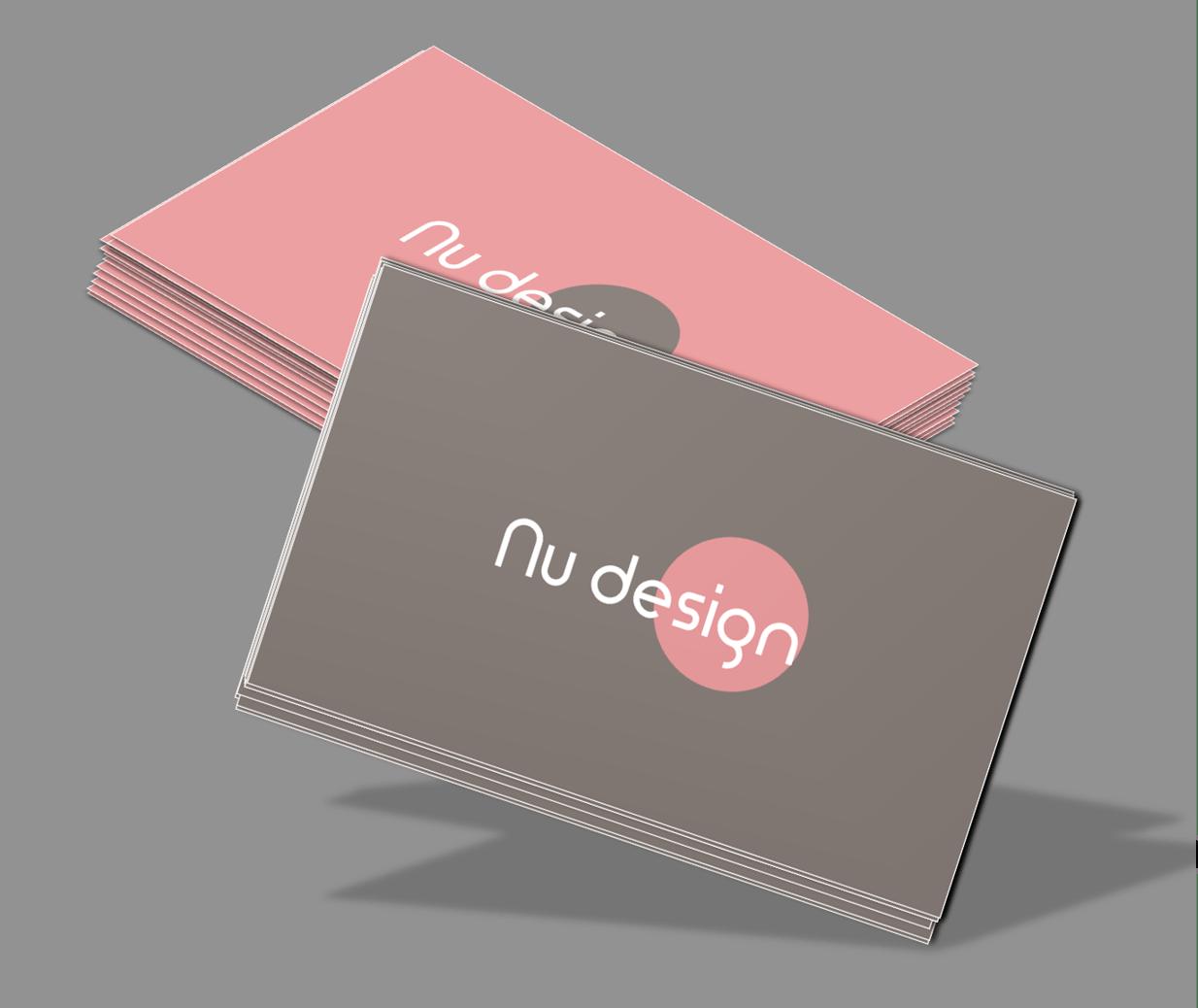 Interior decor business cards
