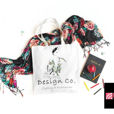 Fashion Branding for Shopping bags